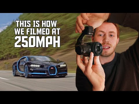 How Bugatti Used a Second Chiron as a Camera Car to Film Its 0-249-0 MPH Record