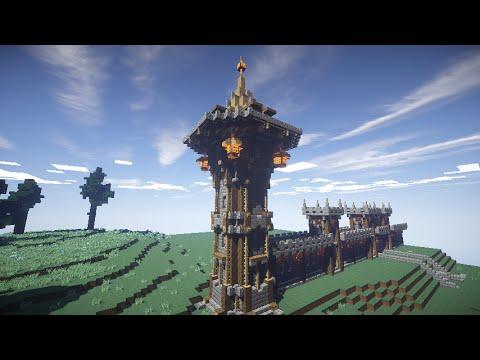 Как построить Замок в Minecraft |ЧАСТЬ 2| [Средневековье]