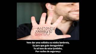 António Zambujo -  Lambreta (LETRA 1080p)