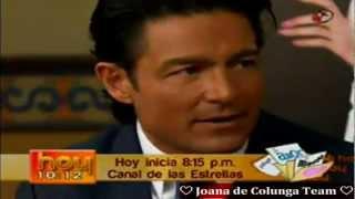 Porque El Amor Manda: Desayunando Con: ☆Fernando Colunga☆ Y Blanca Soto, En Hoy, 8/ 10/ 12.