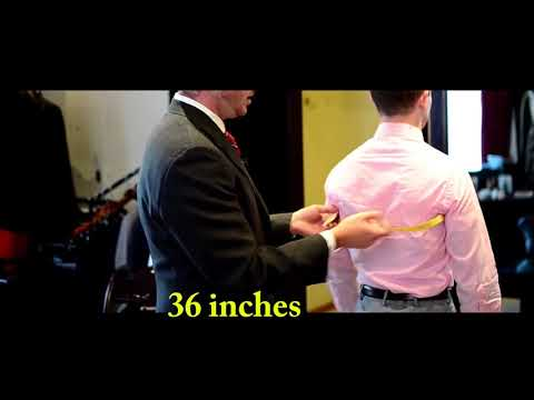 How To Measure Mens Jacket Size Chart - Easy Guide To Measure A Leather Jacket For Yourself