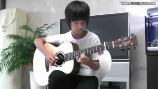 виртуозная игра на гитаре