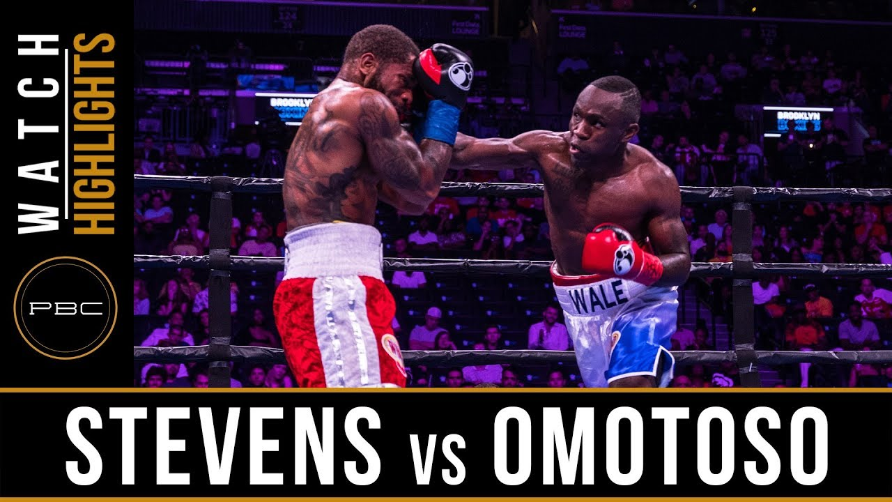 Stevens vs Omotoso HIGHLIGHTS: August 3, 2019 — PBC on FOX