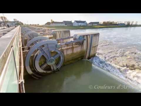 Le Barrage du Couesnon en timelapse