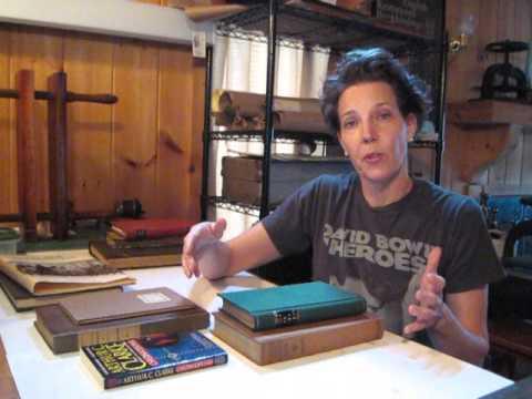 Terminology/Types & Styles of Bindings - Bookbinding