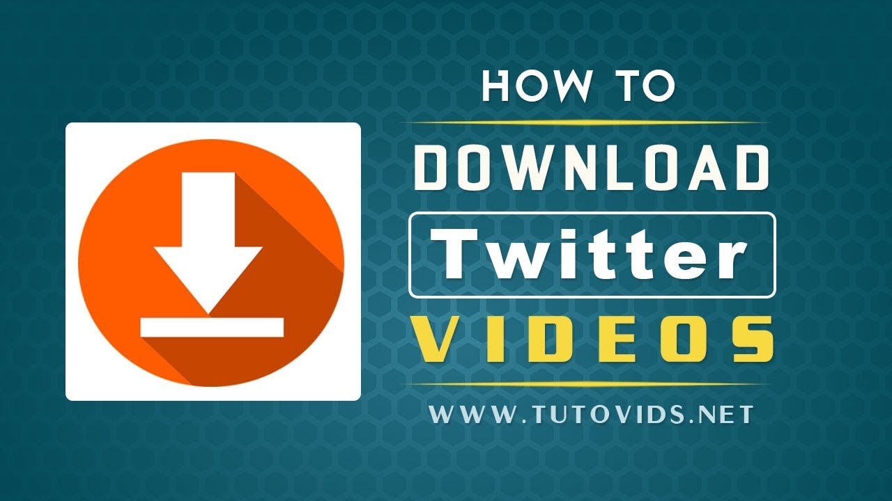 download twitter vídeo