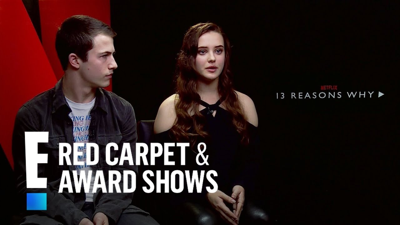 13 reasons why stars talk new netflix series e red carpet award shows youtube - Watch e red carpet online ...