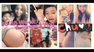 33-35 WEEK PREGNANCY VLOG♥ Thumbnail
