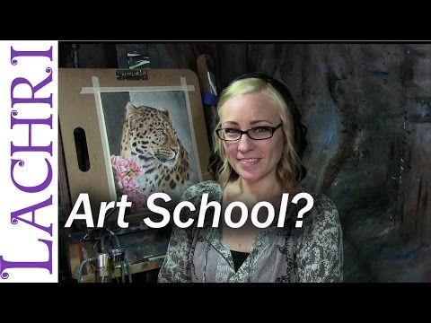 Do you have to go to art school to be a Fine Artist? w/ Lachri