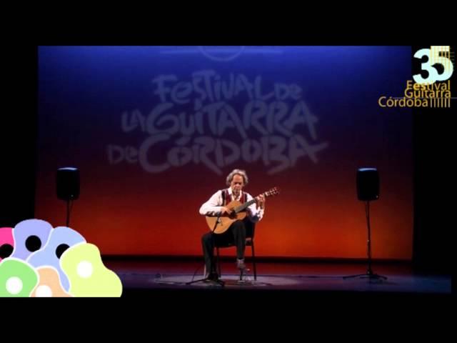 Roland Dyens en el Festival de la Guitarra de córdoba 2015