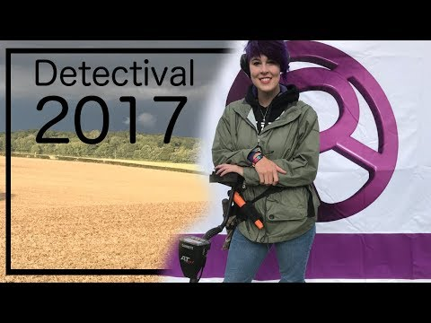 Treasure Hunting in England - Detectival 2017