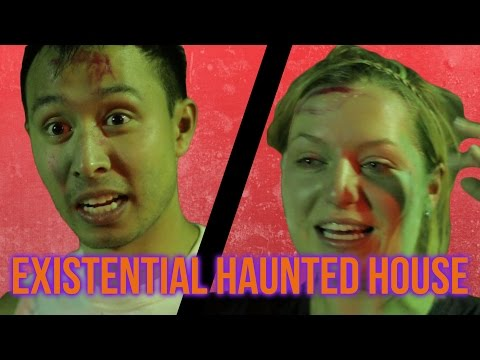 People Try An Existential Haunted House
