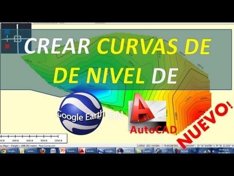 crear-curvas-de-nivel-de-google-earth-en-autocad-(nuevo-método)