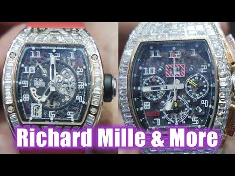 RICHARD MILLE & MORE BIG DIAMONDS!