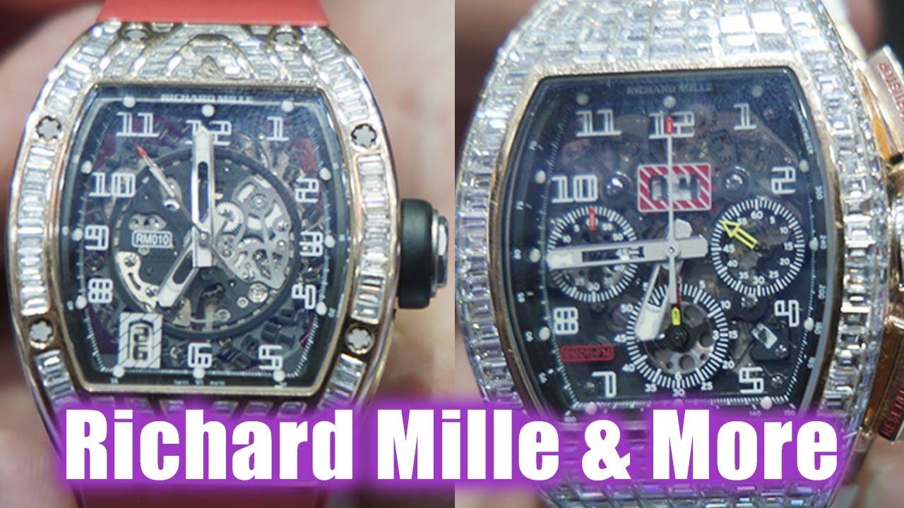 RICHARD MILLE \u0026 MORE BIG DIAMONDS!