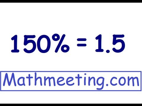 Percent to Decimal 2