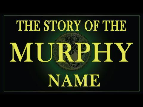 The story of the Irish name Murphy