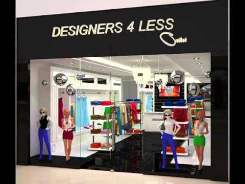 Designer 4 Less Retail Outlet Store In Outlet Mall YouTube