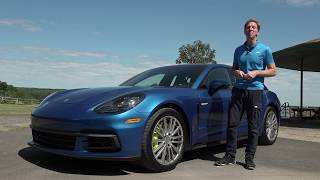 2018 Porsche Panamera 4 E-Hybrid Sport Turismo | Full Review | with Steve Hammes