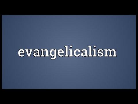 Header of evangelicalism