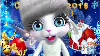 Зайка ZOOBE 'С Новым  2018 Годом!'