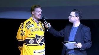 KalPan Liiga-kauden 2014-2015 kaudenavaustilaisuus 24.4.2014 - haastattelussa Mikko Jokela
