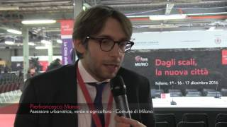Video intervista Pierfrancesco Maran, assessore Comune di Milano