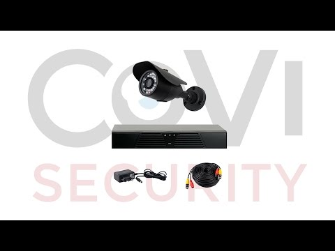 Готовые комплекты видеонаблюдения