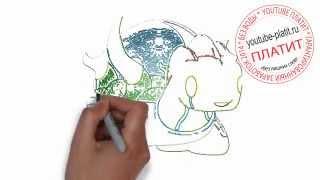 Картинки нарисованных монстров  Как нарисовать красивого монстра черепаху