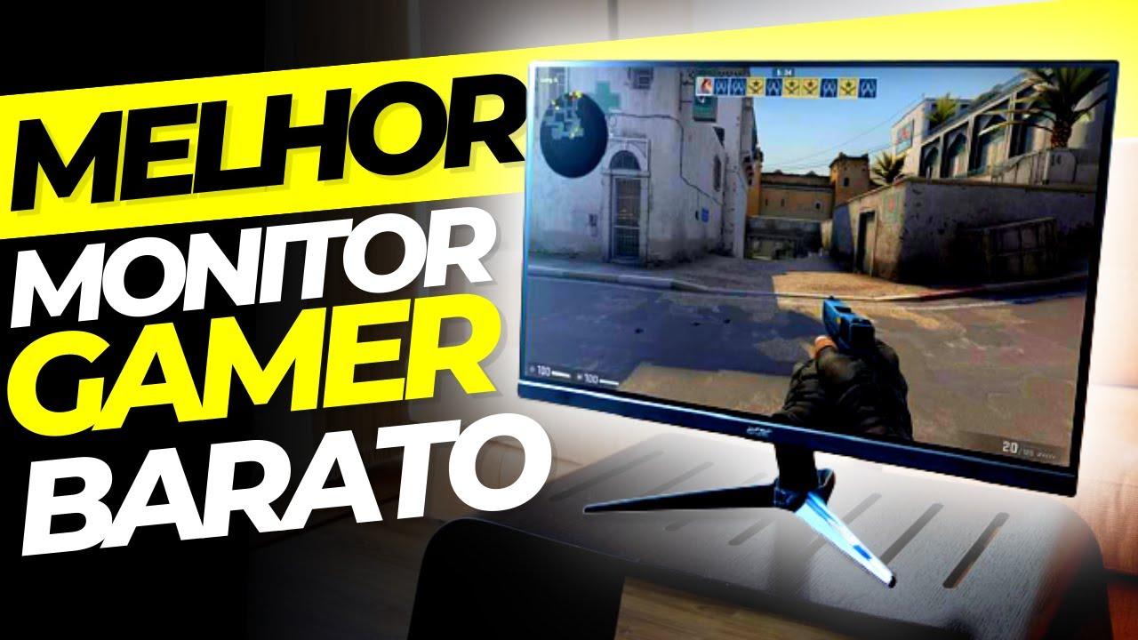 Monitor GAMER BARATO Custo Beneficio 2021 até 144hz, Curvo e Ultrawide