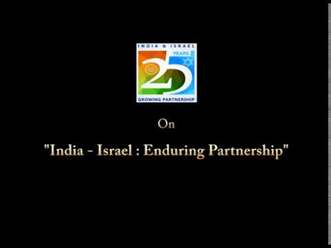 'India - Israel: Enduring Partnership'