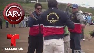 Rondas campesinas dan azotes a un presunto ladrón en Perú | Al Rojo Vivo | Telemundo