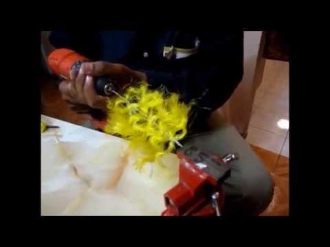 COMO HACER ARBOLES PARA MAQUETAS - YouTube