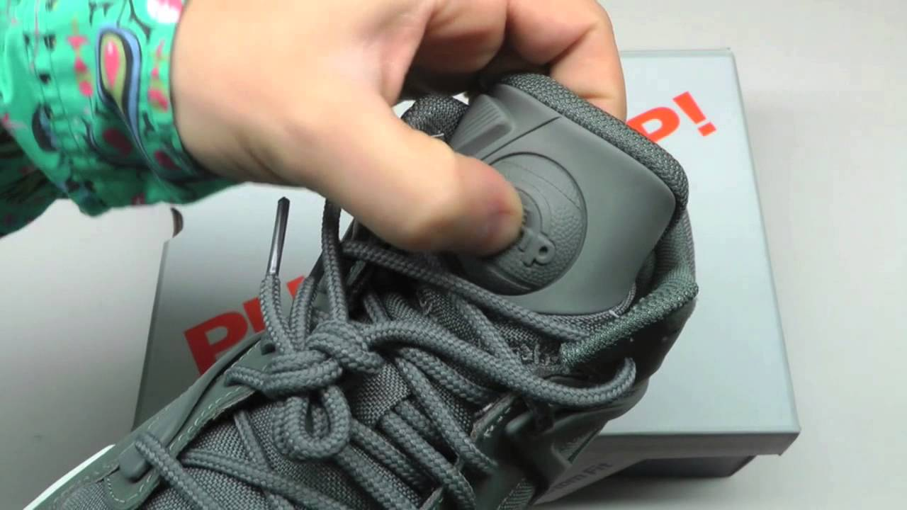 681745e60549 MOVESHOP REEBOK PUMP OMNI LITE CORDURA GREY WHITE - YouTube