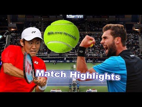 Yoshihito Nishioka vs Benoit Paire - DUBAI DUTY FREE 2018 R1