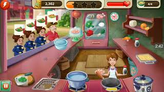 how to play kitchen scramble level 209\little work 209
