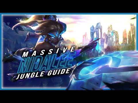 CHALLENGER NIDALEE JUNGLE GUIDE - LEAGUE OF LEGENDS - THE MECHANICS OF NIDALEE