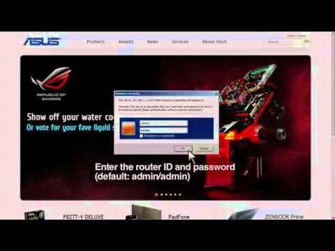 ASUS Router Quick How-to- Multiple SSID Tutorial