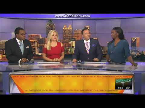 WPCH: CBS 46 News At 9pm on Peachtree TV Open--11/18/17