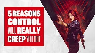 5 Reasons Control Is One Of The Creepiest (And Most Stylish) Games This Year - Control PS4 Gameplay