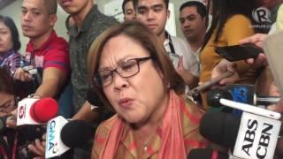 De Lima denies Duterte drug matrix: 'It's garbage'