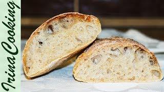 ЧИАБАТТА (ciabatta)  - простой рецепт хлеба
