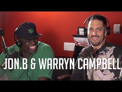 "Jon.B and Warryn Campbell Talk Creating ""Don't Talk,"" Erica Campbell + New Jon.B Album!"