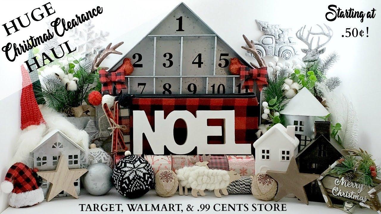 HUGE Christmas Clearance Haul! ~ Farmhouse Home Decor Haul ...