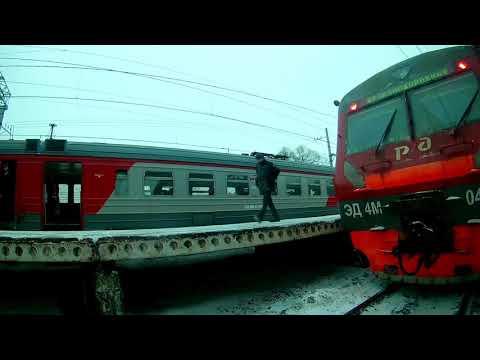Зацепинг поезда | Москва Реутово