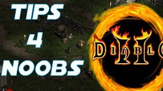 💢TIPS FOR NOOBS - HOW TO GET TO NIGHTMARE/HELL - DIABLO 2 💢