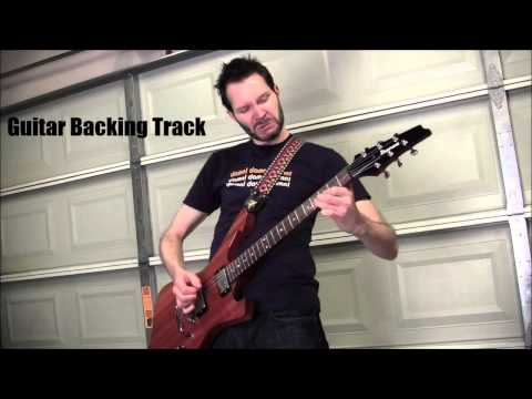Paul Gilbert - technical difficulties [Guitar Backing Track]