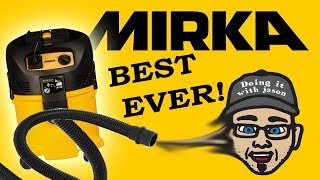 The Best Shop Vac EVER And it Sucks! Mirka-MV-912 Dust Extractor