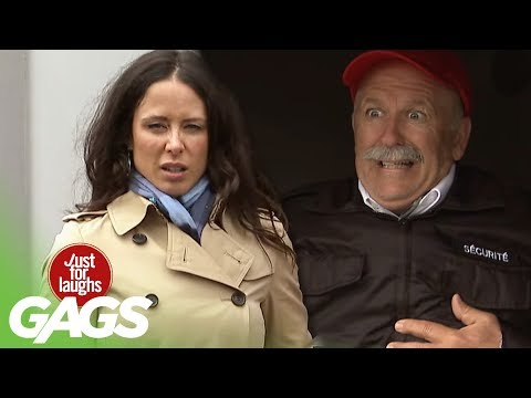 Man Has a Heart Attack at Work - Just For Laughs Gags