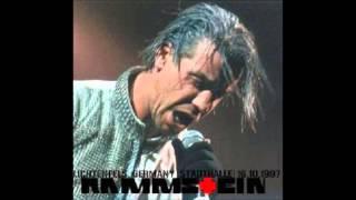 Rammstein  Wilder Wein  Lichtenfels Germany (1997)